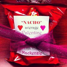 Valentine's Day.  Gifts for students.  We used stickly labels and tulle.  Simple and cute!