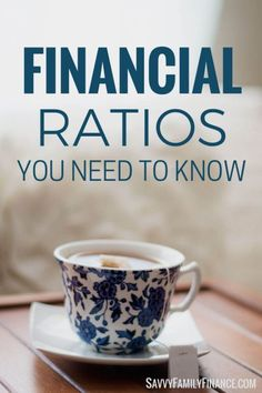 Financial Ratios You Need to Know