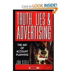 best one i've read on the role of the planner in developing advertising
