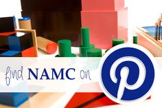 NAMC Montessori Teacher Training Blog: NAMC is Now on Pinterest!