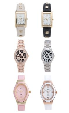 Cute Watches! - http://fashionable.allgoodies.net/2014/07/cute-watches/
