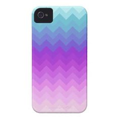 Pastel Ombre Chevron Pattern Iphone 4 Case-mate Cases by OrganicSaturation #iphone #iphonecase #chevron #zigzag #pattern #iphonecover #ombre