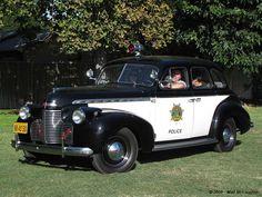 1940 Chevrolet Police Car