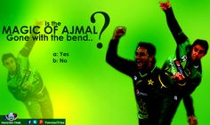 Is the #magic of Saeed Ajmal gone with the bend?? Please share your opinion ...