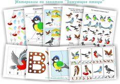 Тематическое занятие: Зимующие птицы
