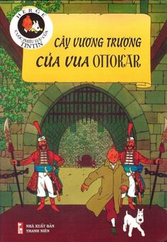 Couverture de Tintin (en langues étrangères) -8Vietnamien- Cây Vương Trượng Của Vua Ottokar