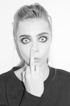 Cara Delevingne Terry Richardson 09 Cara Delevingne swaggin out the bag on yas