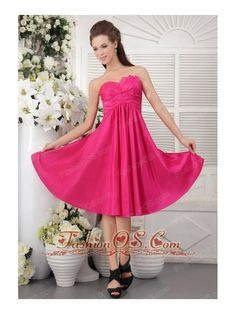 Buy inexpensive taffeta strapless dama dresses for quinceanera in hot pink from dama dresses shop, strapless neckline empire quinceanera knee length prom party homecoming graduation dress with zipper and . Plus Size Bridesmaids Gowns, Hot Pink Bridesmaids, Taffeta Bridesmaid Dress, Discount Bridesmaid Dresses, Inexpensive Bridesmaid Dresses, Bridesmaid Dresses Under 100, Knee Length Bridesmaid Dresses, Wedding Dresses Plus Size, Cheap Graduation Dresses