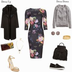 Floral -- 2 ways to wear