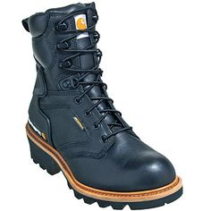Carhartt Boots CML8121 Mens Waterproof Logger Work Boots