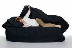 bean bag with built-in blanket and pillow..love it!