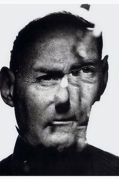 Irving Penn Auto Portrait Self portrait