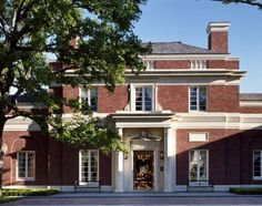 Robert A.M. Stern Architects - Residence in Preston Hollow