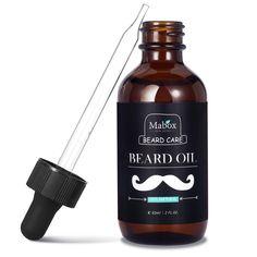 60ml Moustache Care Beard Oil Revitalización de velocidad de rápido crecimiento