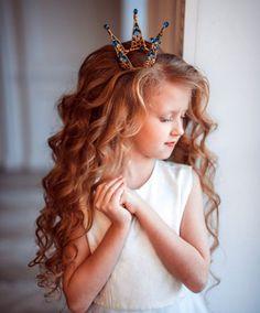 Детская прическа кудри фото