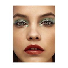Barbara Palvin Green ❤ liked on Polyvore featuring beauty