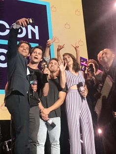 Dylan O'Brien and the cast of Teen Wolf at the MTV Fandom Festival today