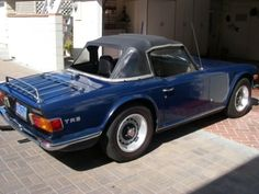 This 1971 Triumph TR6 is described as an extremely clean, 54k-mile example that's had the same owner for more than 30 years. The car reportedly has always been garaged and looks to be very original right down to its '70s California blue plates. Find it here on Craigslist in Newport Beach, California for $15000.