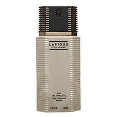 Lapidus Cologne for Men 3.4 oz Eau De Toilette Spray by Ted Lapidus. $19.79. Lapidus Cologne for Men 3.4 oz Eau De Toilette Spray A creation by Ted Lapidus, the signature fragrance Lapidus is a bold and sensual. Lapidus is a melange of woody, patchouli, cinnamon, and musk. For the man who loves a bold yet non-overpowering scent, Lapidus is considered a classic. Ted Lapidus for Man, it is a harmonious alliance of the force and elegance for a dynamic, sensual and...