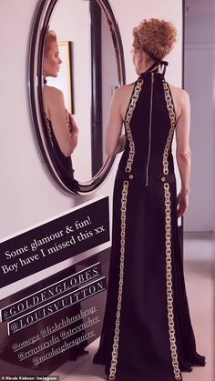 Nicole Kidman, Glamour, She Girl, Hollywood, Keith Urban, Warm Outfits, Golden Globes, Dream Dress, Vestidos