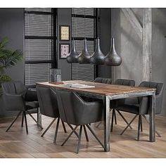 vidaXL Table de Salle /à Manger Bois r/écup/ération Massif 240 cm