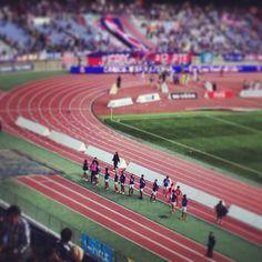 [J1第8節]横浜FM 1-1 甲府 (日産スタジアム) 2013/04/27