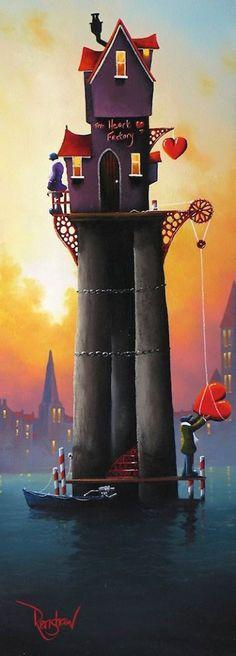 'The Heart Factory' ~ by David Renshaw Art