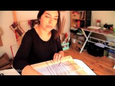 Taller Telar Mapuche Online - Clase 02 - Materiales y urdiembre basica - YouTube Artist Album, Paul Mccartney, The Beatles, Youtube, Songs, Atelier, White People, Fabrics, Song Books