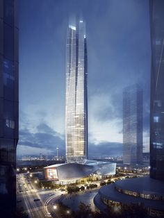 Hengqin International Financial Center | Aedas [Future Architecture: http://futuristicnews.com/category/future-architecture/]