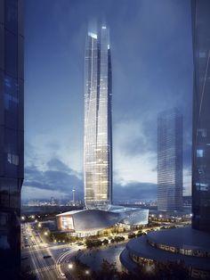 Hengqin International Financial Center | Aedas [Future Architecture: http://futuristicnews.com/category/future-architecture/]