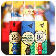 A personal favorite from my Etsy shop https://www.etsy.com/listing/265188837/ninjago-legos-ninjago-lego-party-ninjago