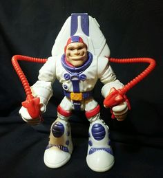 Fisher-Price Rescue Heroes Astronaut ROGER HOUSTON Action Figure Toy jet pack  #FisherPrice