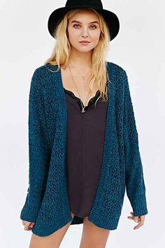 Kimchi Blue Milly Femme Cozy Cardigan Sweater - Urban Outfitters  ahhhhh obsessed I really just want to but urban outfitters