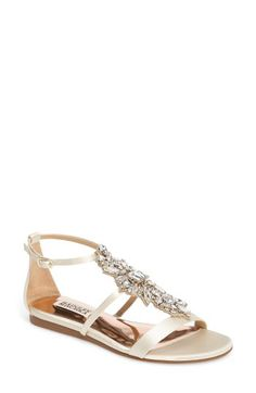 a77719adf Badgley Mischka Badgley Mischka Barstow Embellished Strappy Sandal (Women)  available at  Nordstrom