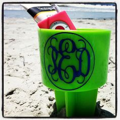 Beach Spikers  Available in lots of colors by InitialDesignsbyPam, $15.00