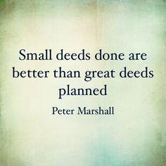 #Marshall #EverydayHero #InspiredbeCAUSE #DailyQuote #Deeds