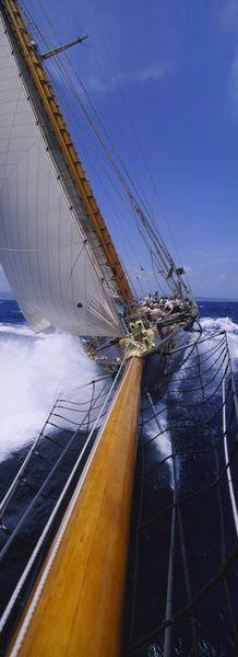 Yacht Mast Caribbean