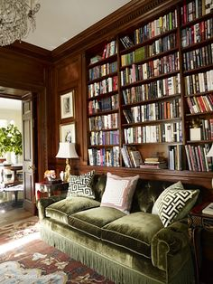 Of all the rooms in my future dream house, the library is the one I think about most. Would it have a mix of paperbacks and hardback editions? Or would it be completely leather bound classics? Woul...