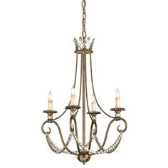 Currey and Company Anise Chandelier CU9461