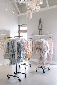 Space Guide Touring The Picture-Perfect Plum Pretty Sugar Retail Space Clothing Boutique Interior, Clothing Store Design, Boutique Interior Design, Boutique Decor, Fashion Store Design, Retail Boutique, Boutique Ideas, Boutique Stores, Fashion Stores