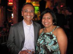 Ajay and Ranjini Poddar, Executive VP of Artech and President of Artech, respectively.