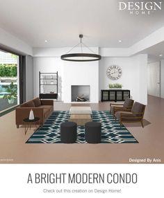 Modern Condo, My Design, House Design, Conference Room, Table, Furniture, Home Decor, Decoration Home, Room Decor
