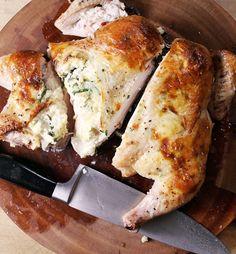 Recipe: Spatchcocked Ricotta Chicken