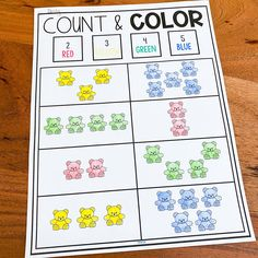 """❤️ """"This resource is perfect for individual centers! My students still have a ton of fun with it even though they working individually."""" ~ Jamielyn D.  ❤️""""This is a great resource for reviewing math standards. These activities are easy to prep and use in the classroom. My students have enjoyed using the counting bears to complete each activity."""" ~ JoBeth G. Counting Bears, Math Workshop, Elementary Math, Math Centers, Math Activities, Students, Classroom, Teaching, Easy"""
