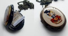 Limited Edition Liliput Locket complete with tiny certificate of authentication.