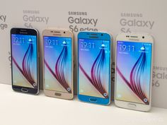 Colorful Galaxy S6 phones