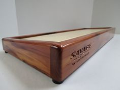 "Pedal board - 22"" Aromatic Cedar - Savage Woodworks"