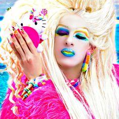 #ryanjasterina #アステライナ #makeup #wig #dragqueen #rupaulsdragrace #cosplay #bighair #waves #texture #fashion