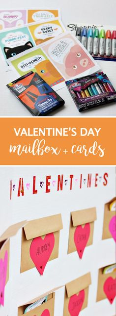 If your child loves celebrating special occasions with their classroom, this Valentine's Day Mailbox and Printable Cards would be a great craft project to create with them! With slots for all their friends, this easy project tutorial uses Elmer's and Sharpie supplies to keep it fun and simple. Plus, you can pick up all the essential materials you need at Target.