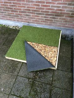 DIY Puppy Patio Potty Just A Few Materials And You 39 Ve Got